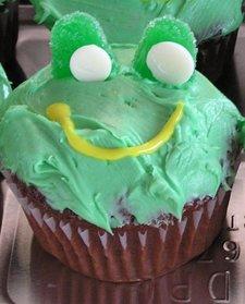 Frogcupcakes